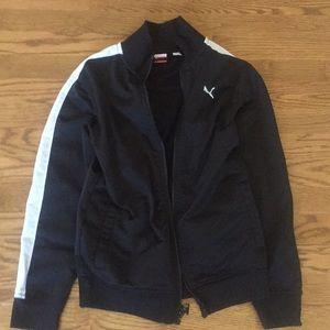 Boys Puma zip up sweatshirt